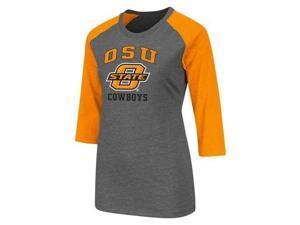 Oklahoma State University Women's 3/4 Sleeve Tee Shirt