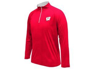 Men's Performance University of Wisconsin Badgers Gridlock Long Sleeve
