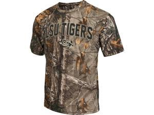 Men's Brown Tine Realtree Camo LSU Tigers Louisiana State T-Shirt