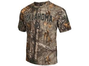 Men's Brown Tine Realtree Camo University of Oklahoma Sooners T-Shirt