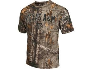 Men's Brown Tine Realtree Camo Texas A&M Aggies T-Shirt
