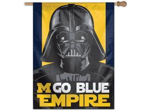 """27"""" x 37"""" Vertical Star Wars University of Michigan Wolverines House Flag"""