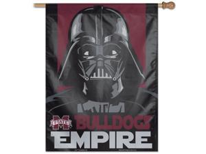 """27"""" x 37"""" Vertical Star Wars Mississippi State Bulldogs House Flag"""