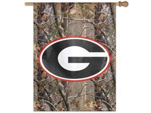 Georgia Bulldogs UGA Vertical Outdoor House Flag