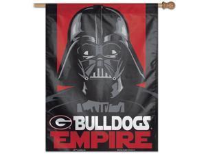 "27"" x 37"" Vertical Star Wars Georgia Bulldogs UGA House Flag"