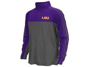 LSU Tigers Louisiana State Boy's Quarter Zip Long Sleeve Windshirt