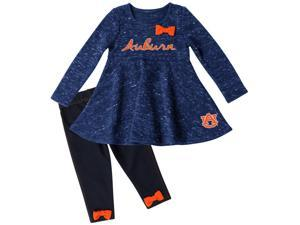 Auburn University Tigers Long Sleeve Dress and Leggings Infant Set