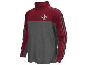 FSU Florida State University Boy's Quarter Zip Long Sleeve Windshirt