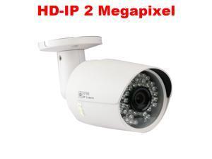 GW2239IP POE (Power over Ethernet) Full HD 1080P IP Camera 2MP Megapixel 3.6mm Lens 130 Feet IR Great Night Vision Distance CCTV Surveillance ONVIF Network Security Camera Waterproof Vandalproof
