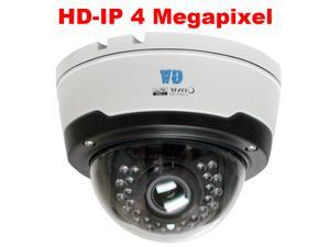 GW4571IP 4MP 1680P H.265/H.264 Video Compression Weather Proof 2.8~12mm Varifocal Lens Max 98 Feet Night Vision PoE Dome IP Camera - Compatible with Windows iPhone iPad Android & H.265 ONVIF NVRs