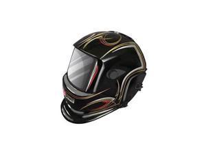 1441-0085 Auto-Darkening Welding Helmet (Pinstripes)