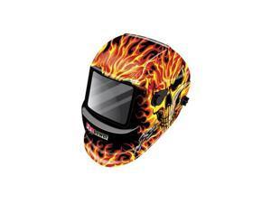 1441-0088 Auto-Darkening Welding Helmet (Skull & Fire)