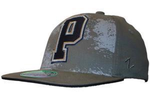 Pittsburgh Panthers Zephyr Epicenter Dark Gray Navy Flexfit Hat Cap (S/M)