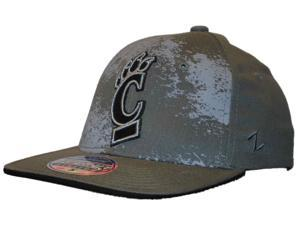 Cincinnati Bearcats Hat Cap Zephyr Epicenter Dark Gray Flexfit (S/M)