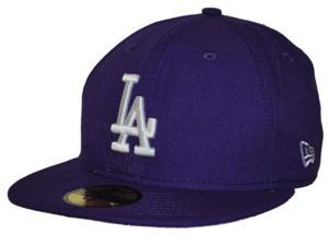 Los Angeles Dodgers New Era 59Fifty Purple Fitted Structured Hat Cap (7)
