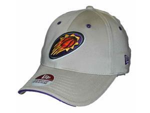 Phoenix Suns New Era Khaki Purple NBA Flexfit Hat Cap (S/M)