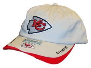 Kansas City Chiefs Reebok Khaki Youth Adjustable Hat Cap