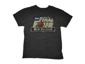 2012 NCAA Basketball Final Four Youth Vintage Style New Orleans T-Shirt (M)