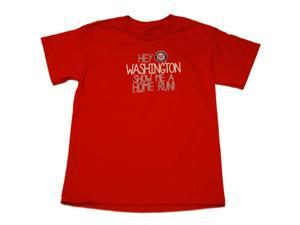 Washington Nationals SAAG Youth Boys Red Home Run Cotton T-Shirt (M)