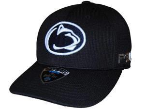 Penn State Nittany Lions TOW Black Ironside Memory FLEXFIT Hat Cap (M/L)