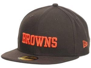 Cleveland Browns New Era 59Fifty NFL On Field Brown Fitted Hat Cap (7)