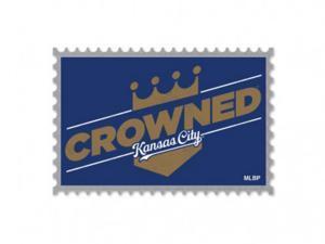Kansas City Royals Wincraft 2015 MLB World Series Champions Crowned Metal Pin