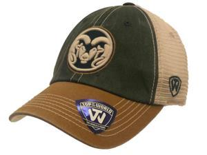 Colorado State Rams TOW Green Gold Offroad Adjustable Snapback Mesh Hat Cap
