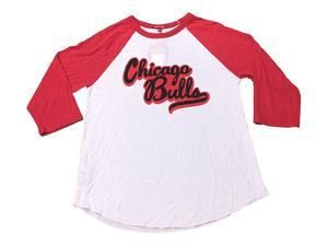 Chicago Bulls Mitchell & Ness Vintage Vintage Womens Half Sleeve T-Shirt (M)