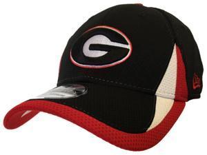 Georgia Bulldogs New Era 39Thirty Performance Flexfit Structured Hat Cap (S/M)