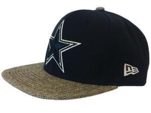 Dallas Cowboys New Era Navy Tribal Bill 9Fifty Adjustable Snapback Hat Cap