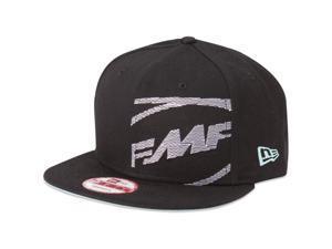 FMF Racing New Era 9Fifty Classic Black Flatbill Snapback Adjustable Hat Cap