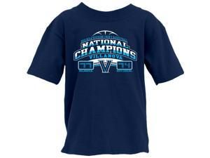 Villanova Wildcats 2016 Basketball National Champ Final Score YOUTH T-Shirt (S)