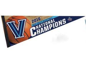 "Villanova Wildcats 2016 NCAA Basketball National Champions Felt Pennant 12"" x30"""