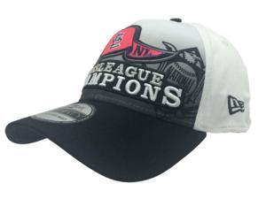 St. Louis Cardinals New Era 39Thirty White 2013 League Champs Flexfit Hat Cap