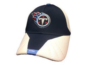 Tennessee Titans Reebok Navy On-Field Performance Structure Flexfit Hat Cap(M/L)