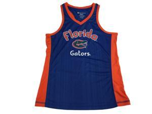 Florida Gators Colosseum Blue GIRLS Racerback Tank Top (M)