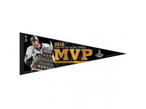 Pittsburgh Penguins MVP Sidney Crosby 2016 Conn Smythe Trophy Winner Pennant