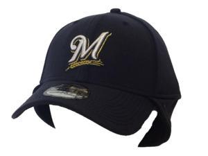 Milwaukee Brewers New Era 39Thirty Structured Cold Weather Neck Hat Cap (M/L)