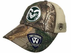 Colorado State Rams TOW Camo Prey Farewell Hughes Football Stadium Mesh Hat Cap