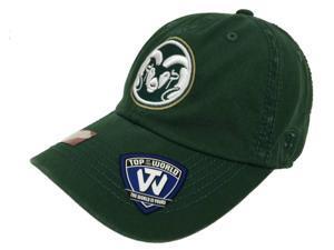Colorado State Rams TOW Green Farewell Hughes Football Stadium Adjust Hat Cap