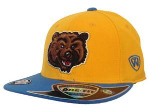 UCLA Bruins TOW YOUTH Yellow Blue Enhance Slam Memory Flexfit Flat Bill Hat Cap