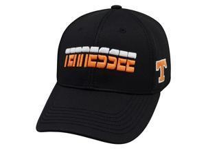 Tennessee Volunteers TOW Black Performance Mesh Vigor Memory Flexfit Hat Cap