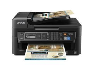EPSON WF-2630(C11CE36201) 5760 dpi x 1440 dpi Wireless/USB Color Inkjet MFP Printer