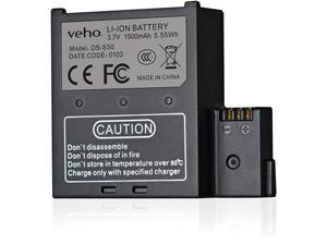 Veho VCC-A034-SB -Muvi K-Series Spare Battery - For K1, K2, K2S, K2NPNG, K2PRO