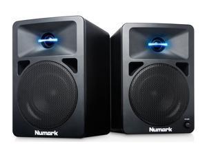 Numark N-WAVE 580 Powered Desktop DJ Monitors with LED