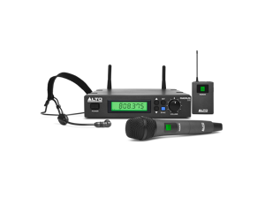 Alto RADIUS 100 Professional UHF Diversity-Wireless Microphone System