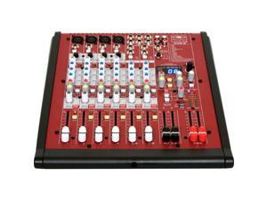 Galaxy Audio AXS 8 Audio Mixer with USB, 4 XLR Mic and 2 Stereo Input, 20Hz-30KHz Frequency Response
