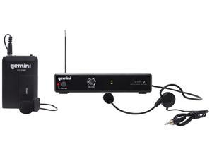 Gemini VHF-01HL Single Channel VHF Wireless System - Headset