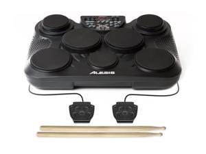 Alesis CompactKit 7 Portable Electronic Drum Kit with velocity-sensitive drum pads - incl. drumsticks