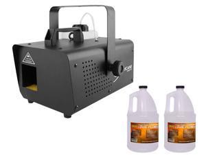 Chauvet HHAZE1D Hurricane Haze 1D + 2x Haze Fluid Gallon